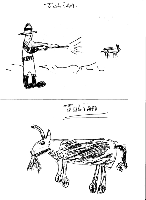 Julian - Shooting and angry cow
