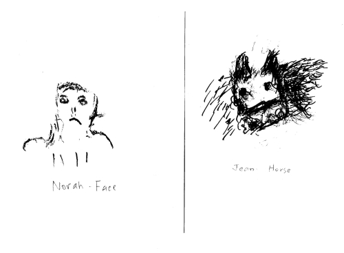 Norah - Face & Jean - Horse