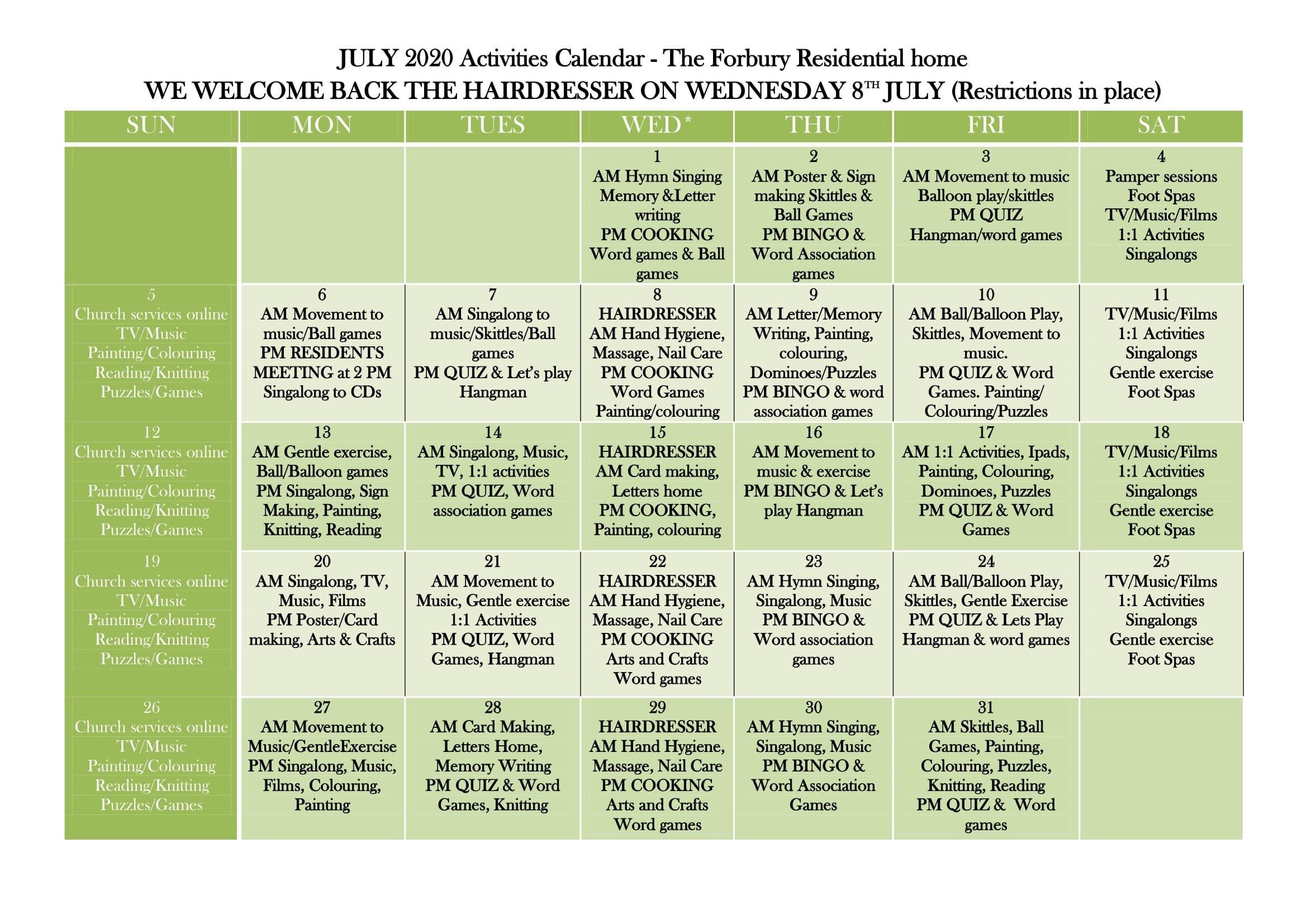 JULY 2020 MONTH ACTIVITY CALANDER (1)